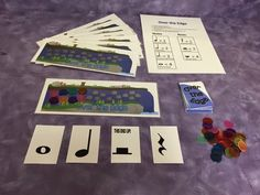 Music with Mrs. Dennis: Over The Edge: Music Game Assessing Rhythmic Durations