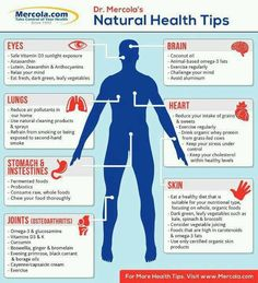 Keep your body healthy naturally.