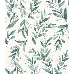 Magnolia Home par Joanna Gaines 56 pieds carrés Olive Branch Wallpaper
