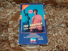The Brother from Another Planet (VHS, 1985) Rare OOP 1st Key Video in Open Matte