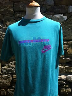 Teal Just Do It Nike Top