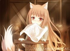 spice and wolf picture - Full HD Backgrounds, 1417x1034 (261 kB)