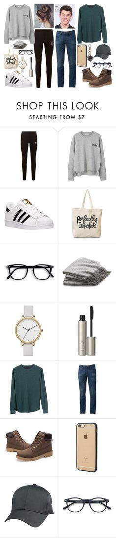 """""""~Hailey And Mason's Camping Trip~"""" by logibear1534 on Polyvore featuring adidas Originals, MANGO, adidas, Crate and Barrel, Skagen, Ilia, Banana Republic, Urban Pipeline, Incase and Tod's"""