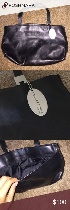Kenneth Cole Purse Never used, great condition. Soft leather purse with metal Kenneth Cole tag. Great size and perfect pockets in the bag. Offers can be made Kenneth Cole Bags Shoulder Bags