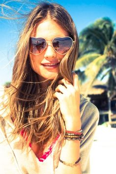 heart shaped sunglasses - ridiculous but i want them