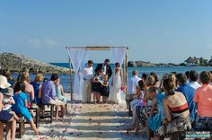Destination Wedding at El Pez at Turtle Cove, Tulum, Mexico.