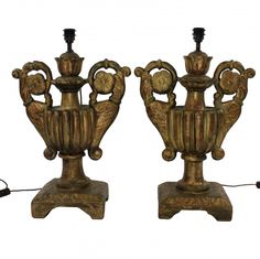 Pair Of 18th Century Lamps