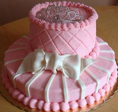 Pink Princess Gawn cake - Special Baby Shower Cake Ideas for Girls Picture