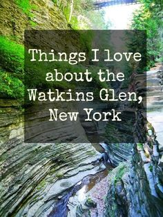 Things I love about the Watkins Glen, New York: http://www.westernnewyorker.org/2017/05/things-i-love-about-watkins-glen.html