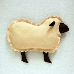 Diy lamb pillows