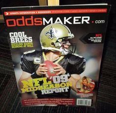 ODDSMAKER MAGAZINE NOVEMBER 2009, GIRLS OF ODDSMAKER, NFL '09, EXC. COLL. QLTY