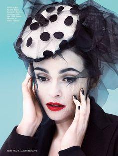 Helena Bonham Cater for Vogue UK
