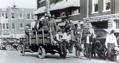 National Guard and wounded during 1921 Tulsa race riots (Tulsa World/Wikimedia Commons)