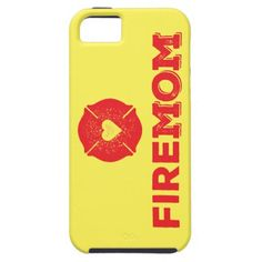 FireMom iphone case Fire Mom ♥ The perfect gift for a Firefighter's Mom! #firefighter #fireman #Mother #Mom #FiremanMom #INAVstudio