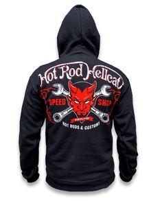 Hotrod Hellcat Kinder Kapuzenjacke Lager