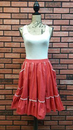 Partners Please Malco Modes Square Dance Skirt by VintageMason