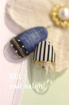デニム 新潟市中央区万代ネイルサロン~BLC nail salon