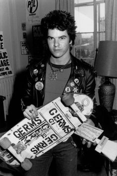 darby crash and his germs deck