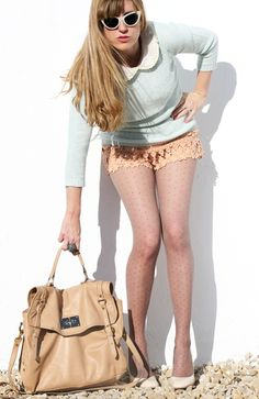 pastel #pastel #lace #fashion