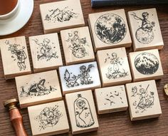 Cheap Stamps, Stationery Craft, Wood Stamp, The Little Prince, Custom Stamps, Scrapbook Stickers, Badge Holders, Cute Stickers, Wedding Designs