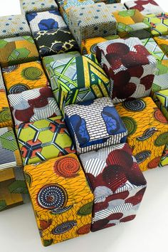 M'Afrique by Moroso. Do-lo-rez by Ron Arad for Moroso using African influenced fabrics