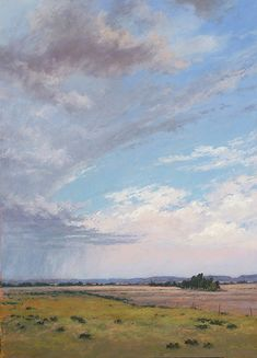 "Just a Summer Storm by Jeri Salter Pastel ~ 36"" x 26"""