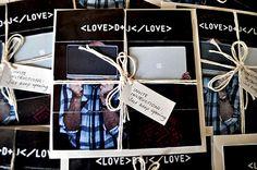 My interactive wedding invitations
