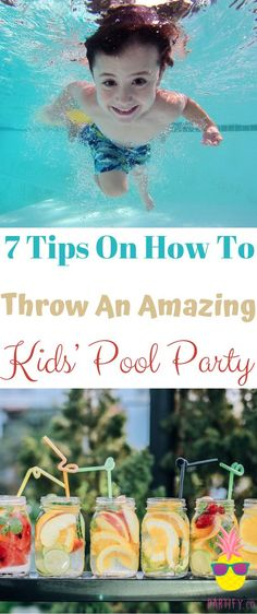 Throwing a kids' pool party is a perfect way to celebrate summer birthdays. Since a pool party is a little different than a home or park party, you might need some new pool party ideas for pulling it together. Whether you want to choose a pool party package or DIY, here are 7 tips on how to organize a fun pool party for the little ones.