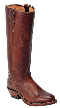 Stove Pipe Boots These beautiful stove pipe boots are all leather. They have a medium round toe, are fully lined, and have a full leather welt and stacked heel. Mens High Boots, Western Boots For Men, Cowboy Boots Women, Cowgirl Boots, Riding Boots, Men's Boots, Western Art, Gaucho, Abilene Boots