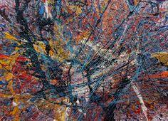 Acryl auf Leinwand  80 x 110 x 5 cm http://www.abstrakte-malerei-waldemar-kobiela.org/expressive-malerei