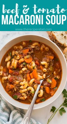 Ground Beef Recipes Easy, Healthy Soup Recipes, Beef Steak Recipes, Easy Dinner Recipes, Dinner Ideas, Cooking Recipes, Slow Cooker Recipes, Real Food Recipes, Crockpot Recipes