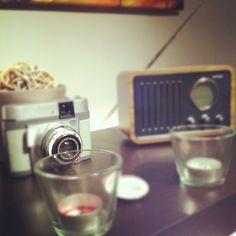 Old camera + old radio