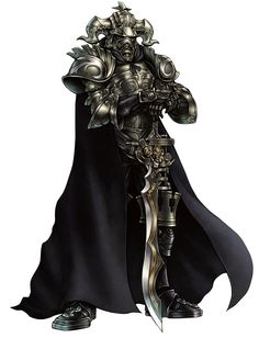 View an image titled 'Judge Gabranth Art' in our Dissidia: Final Fantasy art gallery featuring official character designs, concept art, and promo pictures. Final Fantasy Iv, Final Fantasy Collection, Final Fantasy Artwork, Final Fantasy Characters, Fantasy Armor, Fantasy Series, Game Character Design, Fantasy Character Design, Character Art
