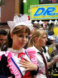 cosplay girls in the parade    Happy Sharing. PIN, Repin