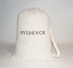 Evidence Laundry Bag.