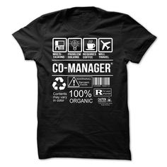 Awesome Tee For Co Manager T-Shirt, Hoodie Co Manager