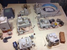 Star Wars project - A few bits and bobs - Warhammer Terrain, 40k Terrain, Wargaming Terrain, Lead Adventure, Custom Stuff, Sci Fi Miniatures, Imperial Assault, Star Wars Models, Toy Soldiers