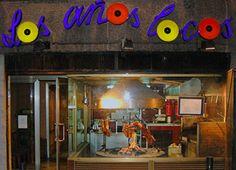 Entrada restaurante asador argentino los años locos