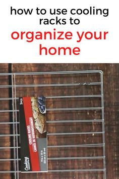 Repurpose dollar store cooling racks for these home organizing hacks and tips. Organize your jewelry, closet, kitchen and bedroom with these storage tips and ideas on a budget. #hometalk