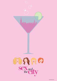 Poster da Série Sex and The City