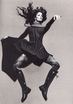 Stephanie Seymour. Photo Richard Avedon © the Richard Avedon Foundation