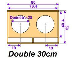 Diy Subwoofer, Subwoofer Box Design, Speaker Box Design, Car Audio Installation, Speaker Plans, Sub Box, Audio Amplifier, How To Plan, Klipsch Speakers