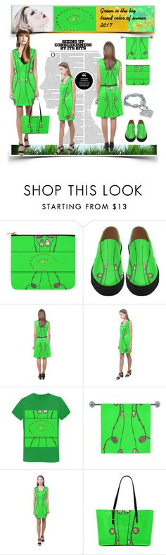 """""""Neon green is the sumer hit of 2017"""" by annabellerockz ❤ liked on Polyvore featuring Eos"""