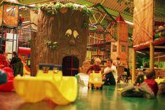De peuterweide een plek voor de kleinere kleintjes in Chimpie Champ Oosterhout.