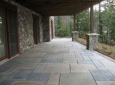interlocking concrete pavers