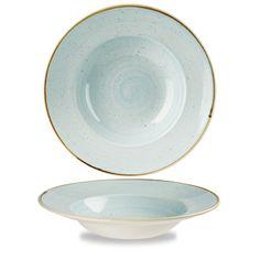 Stonecast #DuckEggBlue Wide Rim Bowl