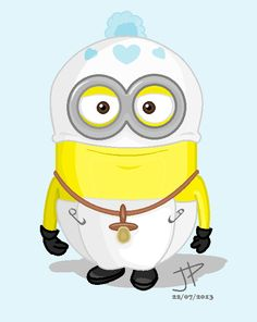 Baby Minion by jptanchico.deviantart.com on @deviantART