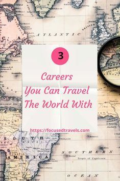 3 Careers you can travel the world with | FocusedTravels Industry Look, Freedom Travel, The Lives Of Others, Self Promotion, Career Path, Ways To Travel, Be Your Own Boss, Meeting New People, Teaching English