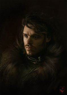 Richard Madden as Robb Stark, Game of Thrones by Anna Mitura  Character © George R. R. Martin