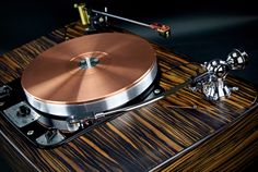 10 Incredible Classic Audio Components That Still Sound Awesome - Gear Patrol Garrard Turntable, Audiophile Turntable, High End Turntables, Direct Drive Turntable, Machining Process, Audio Room, Record Players, High End Audio, Hifi Audio